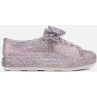 Melissa Womens Disney Be Trainers - Silver Glitter - UK 3 - Silver