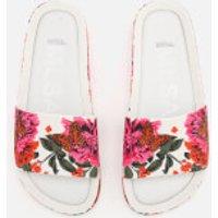 Melissa Melissa Women's 3D Beach Slide Sandals - White - UK 7 - White