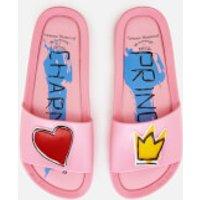 Vivienne Westwood for Melissa Womens Charming Beach Slide Sandals - Pink - UK 5 - Pink