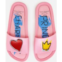 Vivienne Westwood for Melissa Vivienne Westwood for Melissa Women's Charming Beach Slide Sandals - Pink - UK 3 - Pink