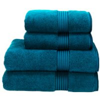 Christy Supreme Hygro Towel Range - Kingfisher - Hand Towel (Set of 2) - Blue