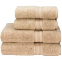 Christy Supreme Hygro Towel Range - Stone - Hand Towel (Set of 2) - Stone
