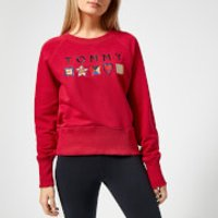 Tommy Hilfiger Womens Clio Sweatshirt - Crimson - M - Red