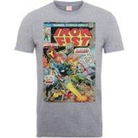 Marvel Comics Iron Fist Atomic Man Mens Grey T-Shirt - L - Grey