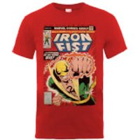 Marvel Comics Iron Fist Die By My Hand Mens Red T-Shirt - S - Red