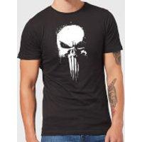 Marvel The Punisher Paintspray Herren T-Shirt - Schwarz - S - Schwarz