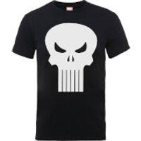 Marvel The Punisher Skull Logo Men's Black T-Shirt - XXL - Black