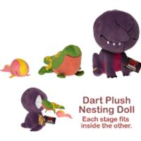 Stranger Things SuperCute Plush Dart Nesting Dolls - Stranger Things Gifts