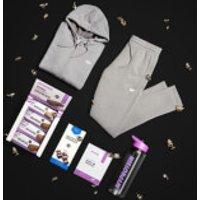 Female Loungewear Bundle - Joggers - L - Hoodie - XL - Grey Marl