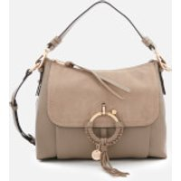 shop for See By Chloé Women's Small Joan Shoulder Bag - Motty Grey at Shopo