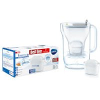 BRITA MAXTRA+ Style Blue Water Filter Jug and 6 Pack Cartridges
