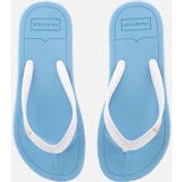 Hunter Women's Original Flip Flops - Forget Me Not/White - UK 7 - Blue