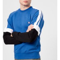 AMI Men's Tricolour Sweatshirt - Bleu Roi - M - Blue
