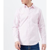 Joules Men's Laundered Oxford Long Sleeve Shirt - Washed Pink - XL - Pink
