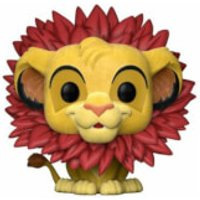 The Lion King Simba Flocked EXC Pop! Vinyl Figure - Lion King Gifts