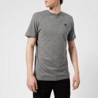 McQ Alexander McQueen Men's Short Sleeve Small Swallow Logo Crew Neck T-Shirt - Grey Melange - S - G