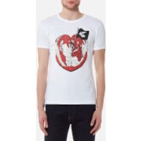 Vivienne Westwood Anglomania Mens Classic T-Shirt - White - M - White