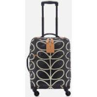 Orla Kiely Women's Matt Laminated Classic Multi Stem Print Travel Cabin Case - Liquorice