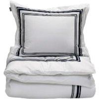 GANT Home Frame Duvet Cover - King - 240 x 220cm - White