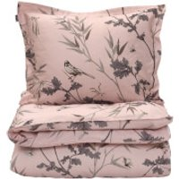 GANT Home Birdfield Duvet Cover - Double - 200 x 200cm - Pink