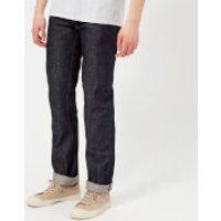 A.P.C. Men's New Standard Mid Rise Straight Leg Jeans - Indigo - W28 - Blue
