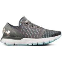 Under Armour Womens Speedform Europa Running Shoes - Grey/Green - US 8.5/UK 6 - Grey/Green