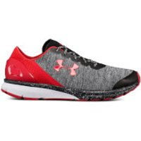 Under Armour Men's Charged Escape Running Shoes - Grey/Black/Red - US 12/UK 11 - Grey/Black/Red