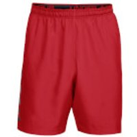 Under Armour Men's Woven Graphic Wordmark Shorts - Red - L - Red