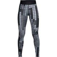 Under Armour Women's HeatGear Armour Printed Leggings - Black - S - Black