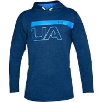 Under Armour Mens MK1 Terry Graphic Hoody - Blue - L - Blue