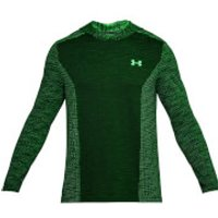 Under Armour Men's Threadborne Seamless Hoody - Green - XL - Green