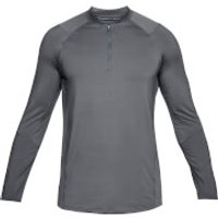 Under Armour Mens MK1 1/4 Zip Long Sleeved Top - Grey - L - Grey
