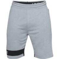 Under Armour Mens MK1 Terry Shorts - Grey - S - Grey