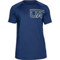 Under Armour Mens MK1 Graphic T-Shirt - Navy - L - Blue