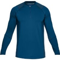 Under Armour Mens MK1 1/4 Zip Long Sleeved Top - Blue - XL - Blue
