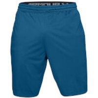 Under Armour Mens MK1 Shorts - Blue - S - Blue