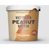 Whey Protein Peanut Butter - 500g - Pot - Chocolate Orange