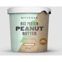 Rice Protein Peanut Butter - 500g - Pot - Original