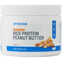 Rice Protein Peanut Butter - 500g - Pot - Curry