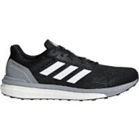 adidas Men's Response ST Running Shoes - Black/White/Grey - US 12/UK 11.5 - Black/White/Grey