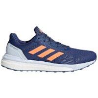 adidas Womens Response ST Running Shoes - Indigo/Orange/Blue - US 6/UK 4.5 - Indigo/Orange/Blue