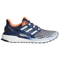 adidas Womens Energy Boost Running Shoes - Indigo/Blue/Orange - US 5.5/UK 4 - Indigo/Blue/Orange