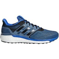 adidas Mens Supernova Running Shoes - Blue - US 7.5/UK 7 - Red/Black