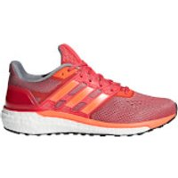 adidas Womens Supernova Running Shoes - Orange/Red - US 6.5/UK 5 - Orange/Red