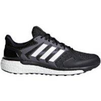 adidas Mens Supernova ST Running Shoes - Black/White/Grey - US 10.5/UK 10 - Black/White/Grey