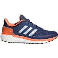 adidas Womens Supernova ST Running Shoes - Indigo/Blue/Orange - US 5/UK 3.5 - Indigo/Blue/Orange
