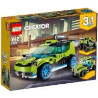 LEGO Sets  3 en 1  Creator: Coche de rally a reacción (31074)