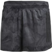 adidas Mens Adizero Split Running Shorts - Black - L - Black