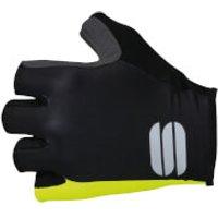 Sportful BodyFit Pro Gloves - L - Black/Yellow Fluo