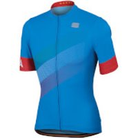 Sportful Italia Jersey - Electric Blue - M - Electric Blue